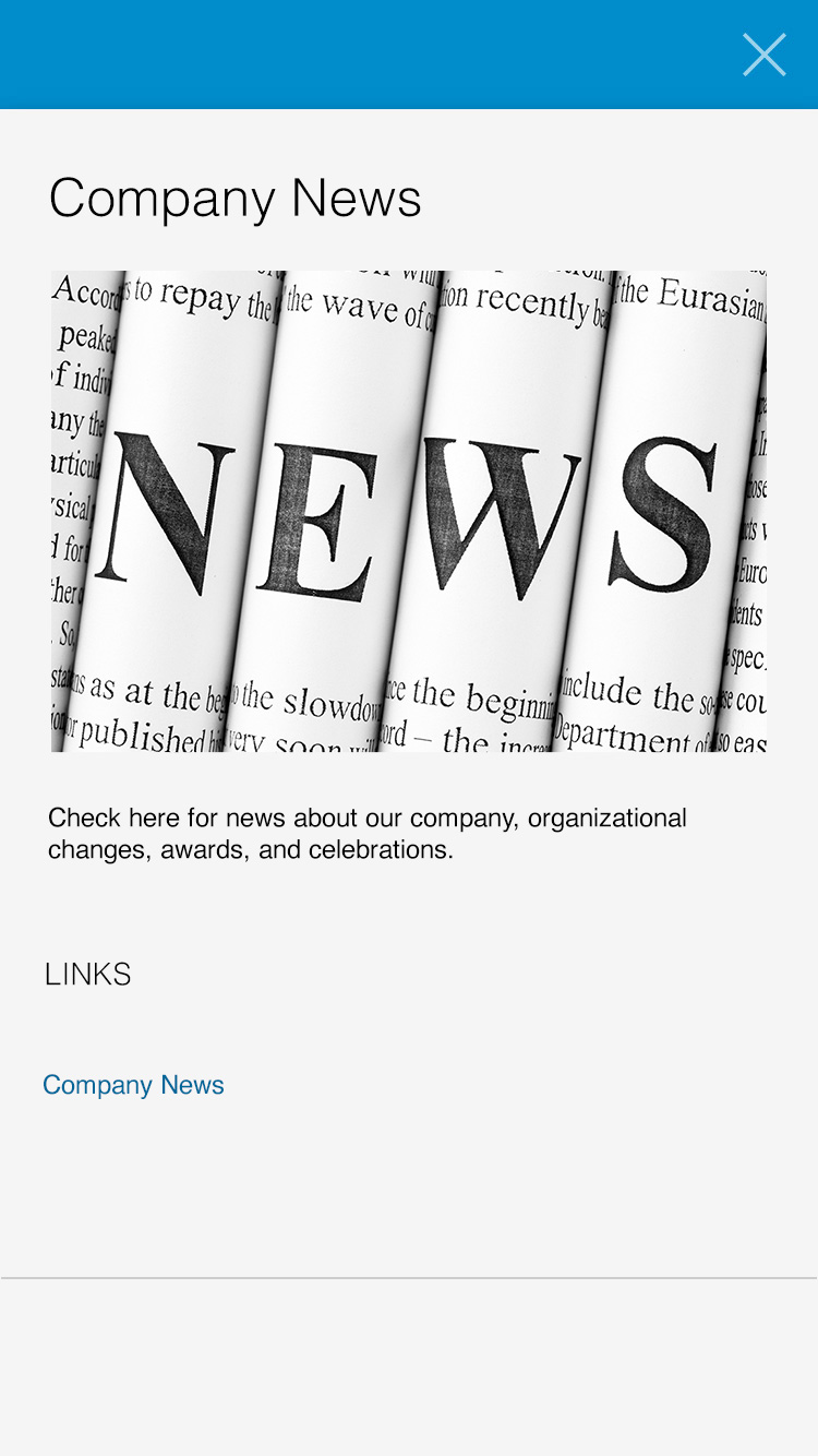 company news example
