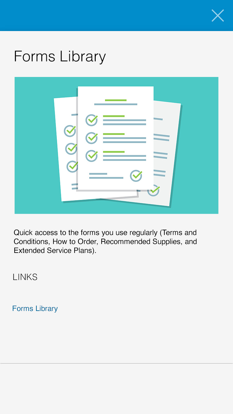 forms library example