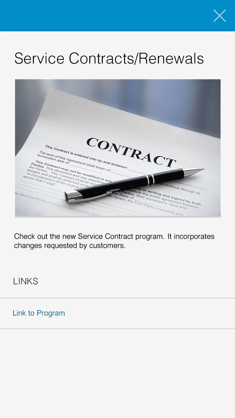 pen laying on a contract